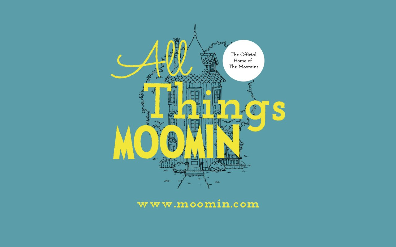 Introducing All Things Moomin S First Official Wallpaper