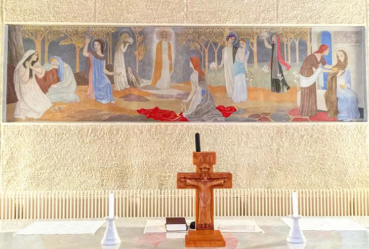 Teuvan Kirkon Alttaritaulu