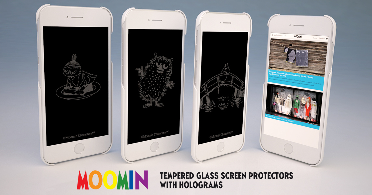 New-to-the-World product - Tempered glass screen protector