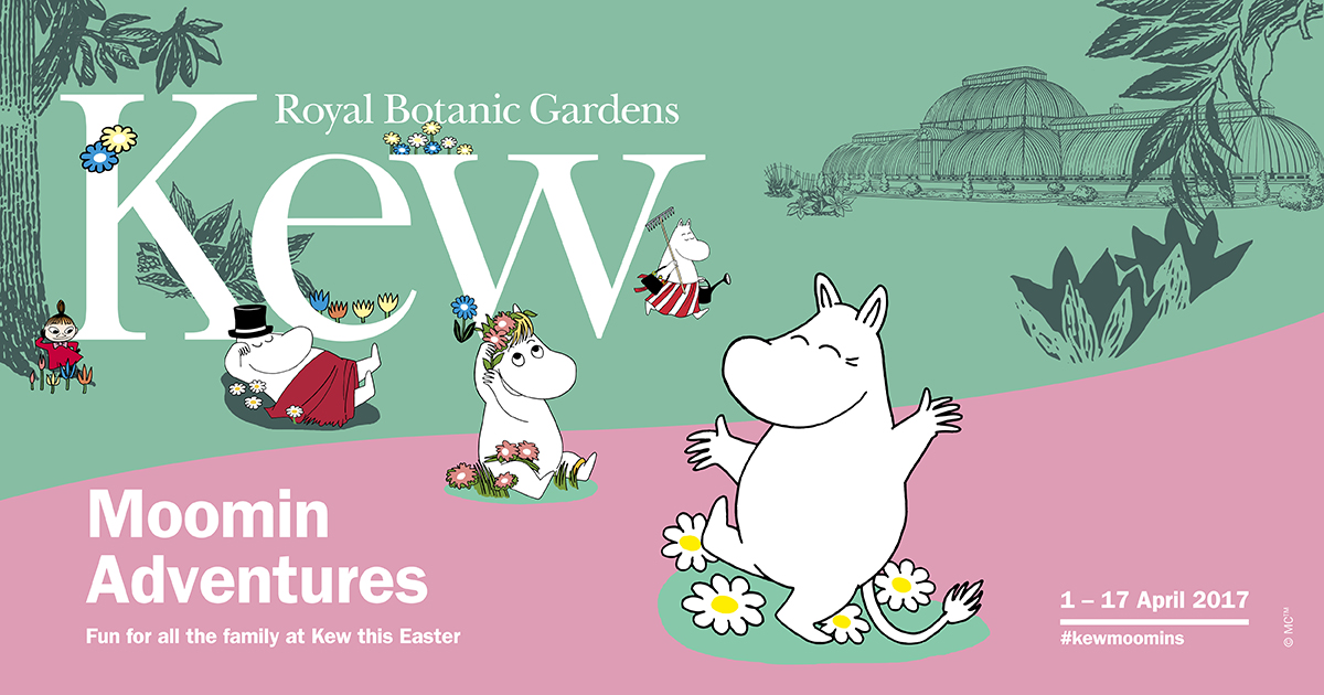 For three weeks only, a Moomin-themed Easter festival at Kew