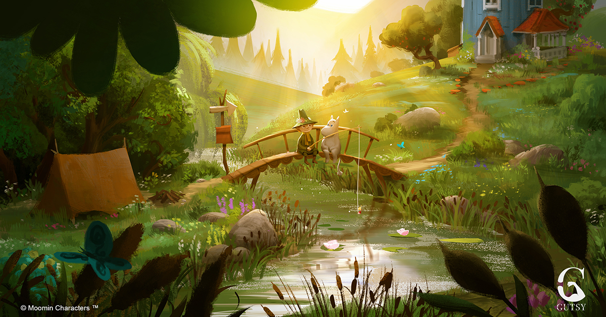 All-star cast for new Moomin animation series, MOOMINVALLEY - Moomin