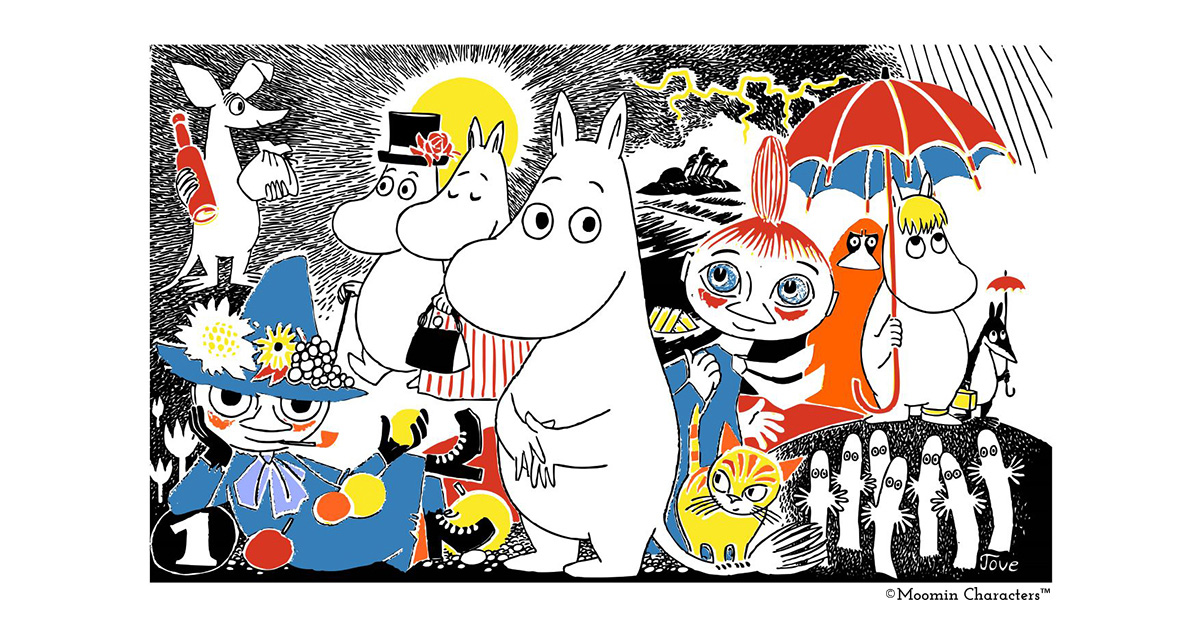 Introduction to Moomin - who are they and how were they born