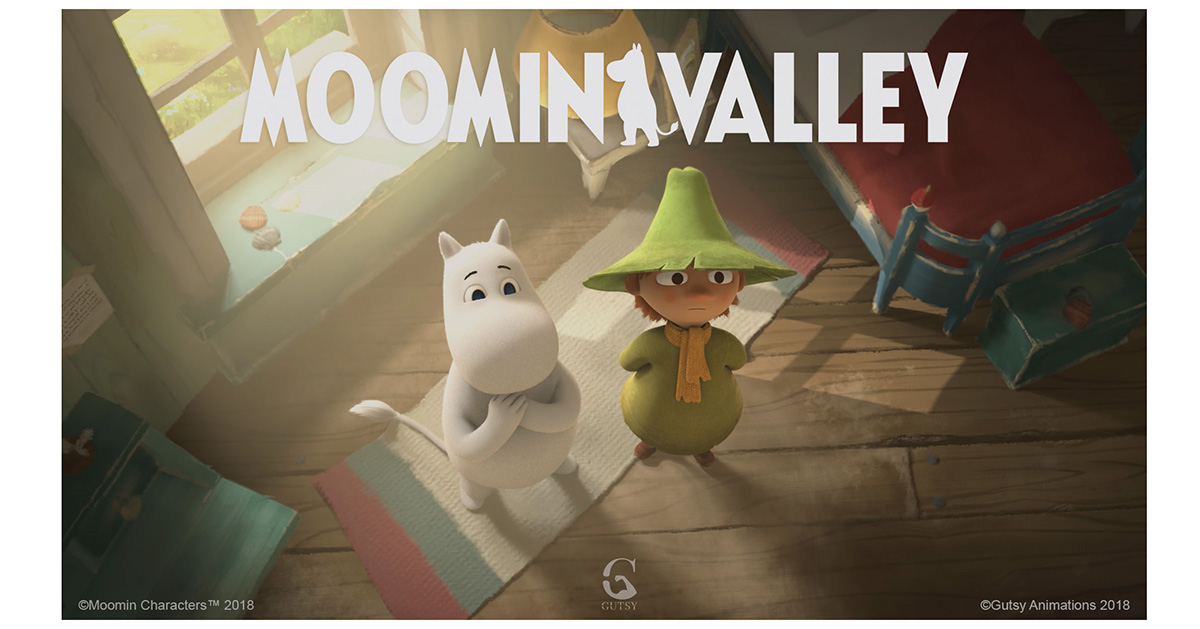 Each episode of the highly-anticipated Moomin animation
