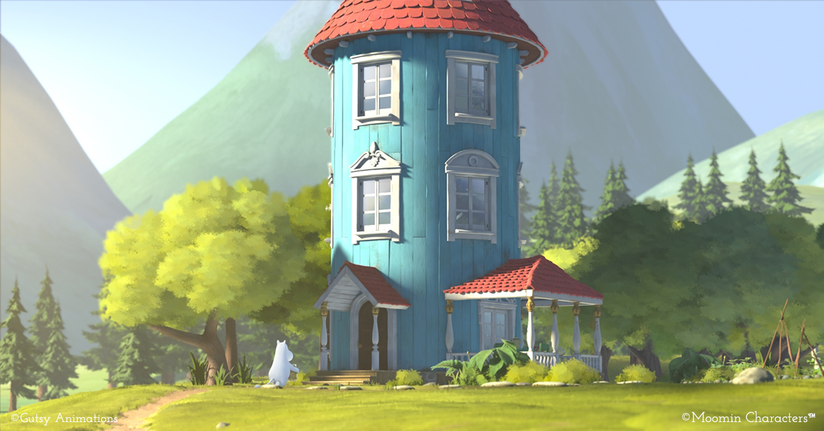 The new Moominvalley TV series chosen to an Oscar-qualifying film