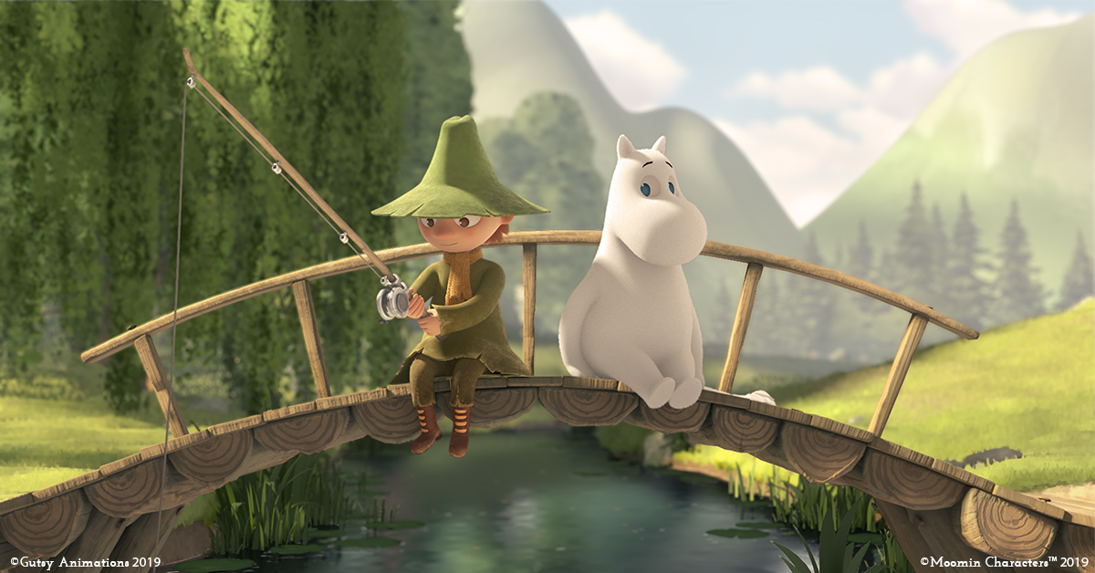 The new Moominvalley animation to premiere in Japan in April!