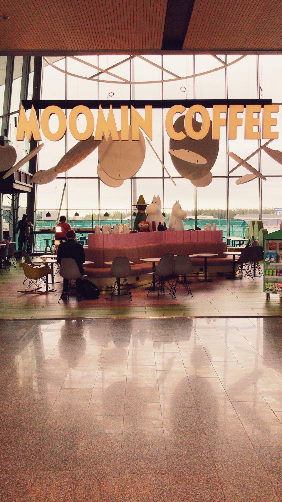 Moomin Coffee Airport