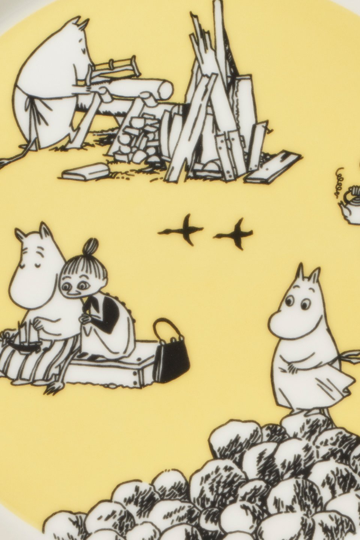 Arabia_Moomin_Collectors_Plates_Yellow_Keltainen_Moominmamma